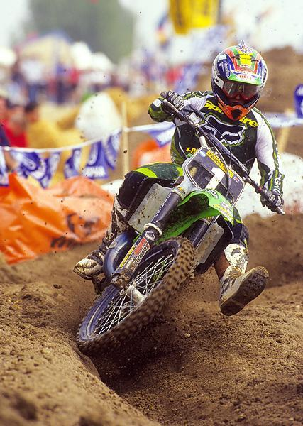 Ricky Carmichael was firmly in control of the 125cc class in American Motocross, winning his third consecutive title.