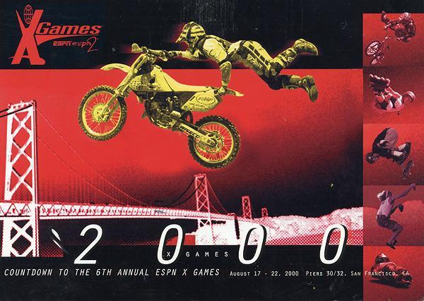 Travis Pastrana exploded on the professional motocross scene in 2000.