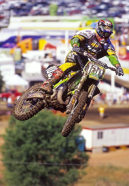 Mike Brown won the 2001 125 National Championship in one of the hardest-fought championships ever.