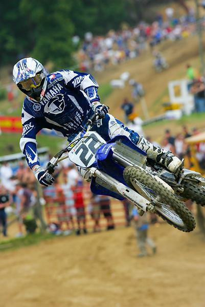 Although he didn't win a race Chad Reed was fast throughout the '04 outdoor season.