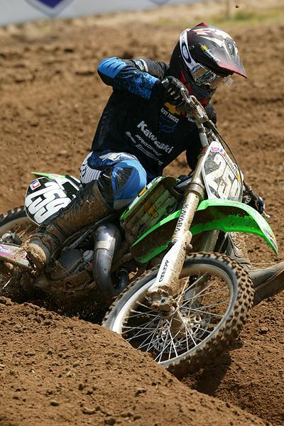 James Stewart won 23 out of 24 motos in '04. Everyone wondered how he would fare against Carmichael the next season.