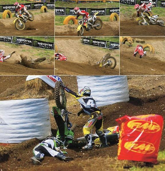 Stewart landed on Carmichael at Unadilla. Their expected showdown had more downs than ups.