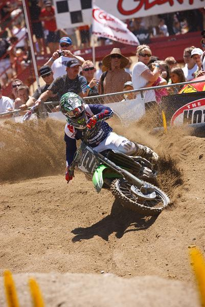 Villopoto served notice early that he was ready for the 450 class going 1-1 at the opening round at Glen Helen.