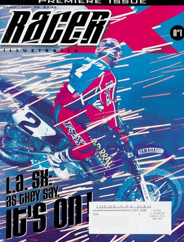 The March/April 1998 Issue - Racer X Illustrated  Magazine
