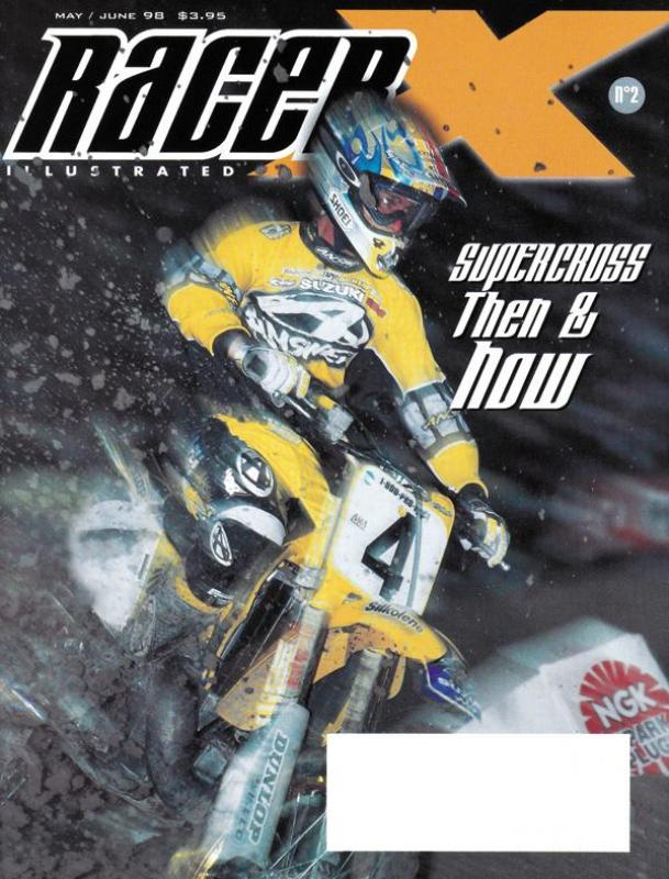 The May/June 1998 Issue - Racer X Illustrated  Magazine