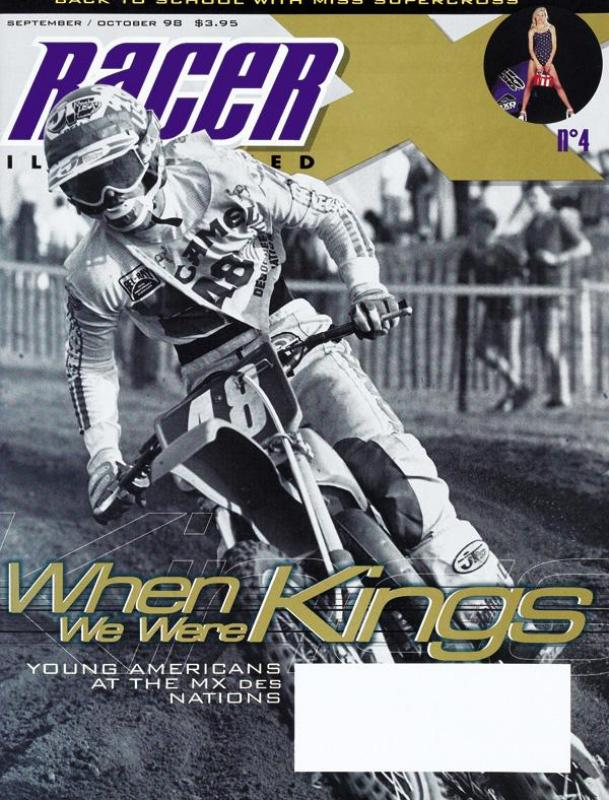 The Sep/Oct 1998 Issue - Racer X Illustrated Motocross Magazine