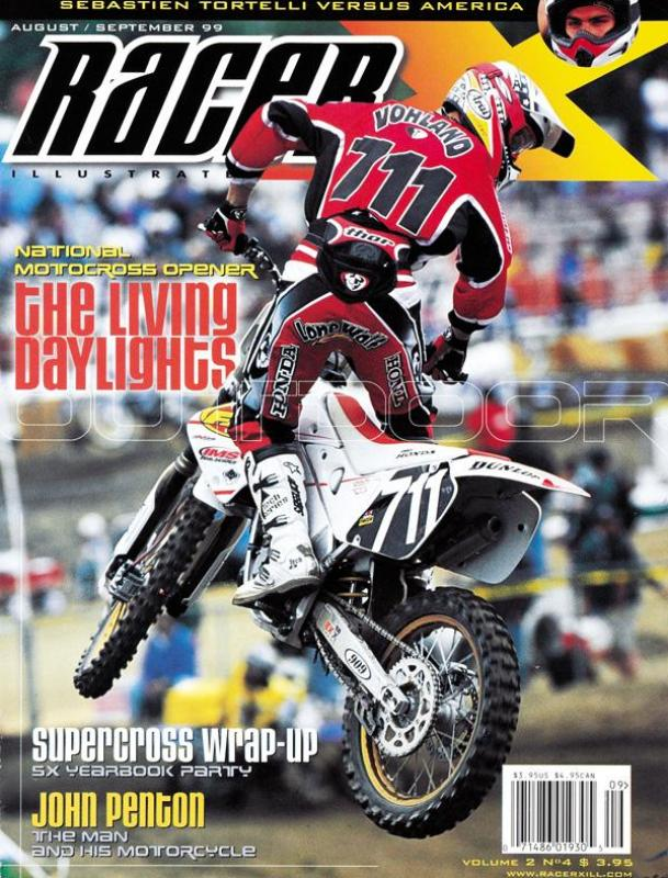 The Aug/Sep 1999 Issue - Racer X Illustrated Motocross Magazine