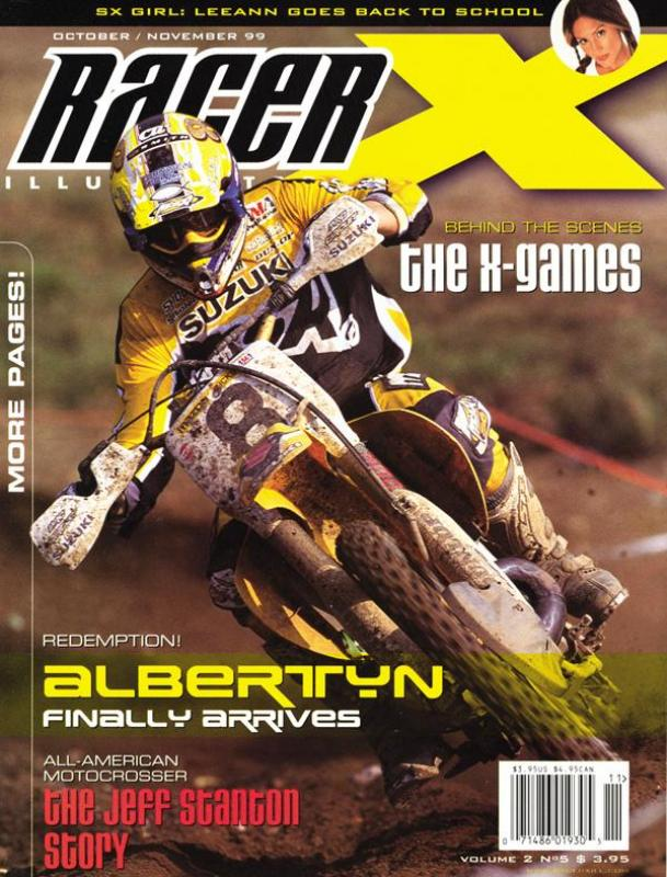 The Oct/Nov 1999 Issue - Racer X Illustrated  Magazine
