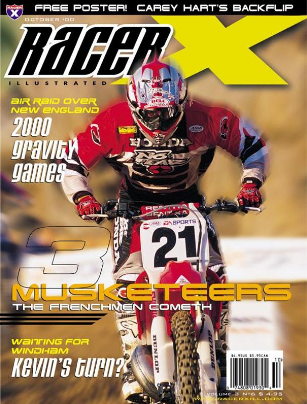 The October 2000 Issue - Racer X Illustrated  Magazine