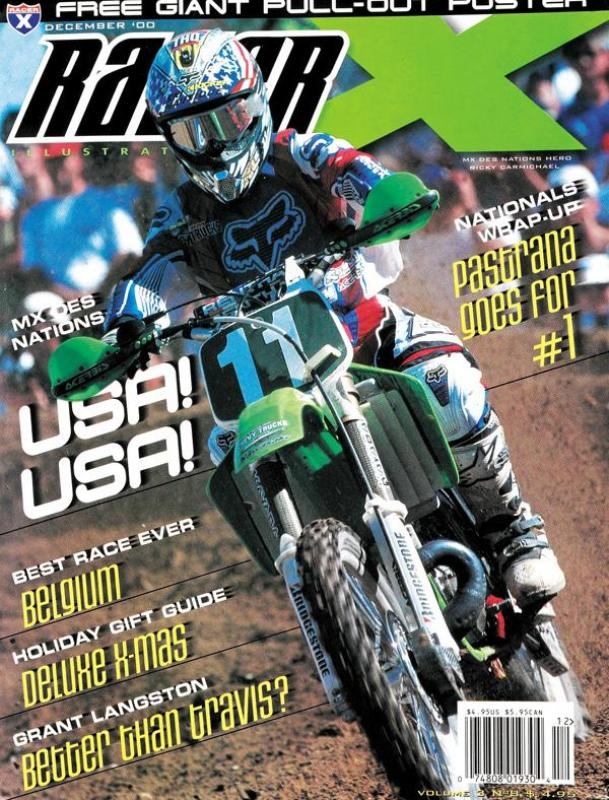 The December 2000 Issue - Racer X Illustrated  Magazine