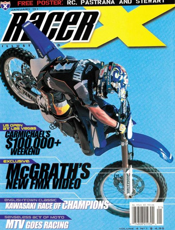 The January 2001 Issue - Racer X Illustrated Supercross Magazine