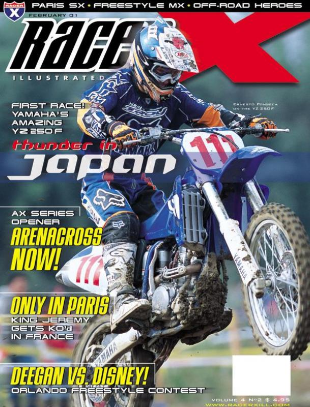 The February 2001 Issue - Racer X Illustrated  Magazine