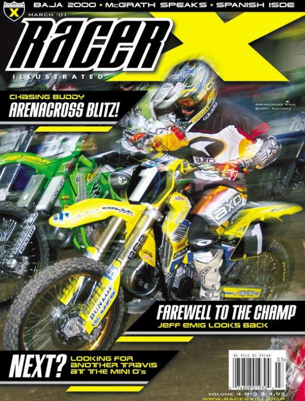 The March 2001 Issue - Racer X Illustrated Supercross Magazine