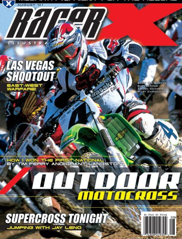 The August 2001 Issue - Racer X Illustrated Motocross Magazine