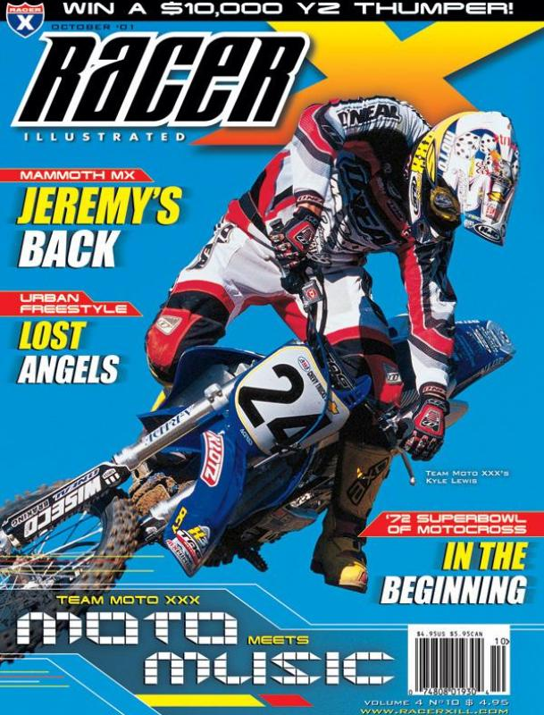 The October 2001 Issue - Racer X Illustrated Motocross Magazine