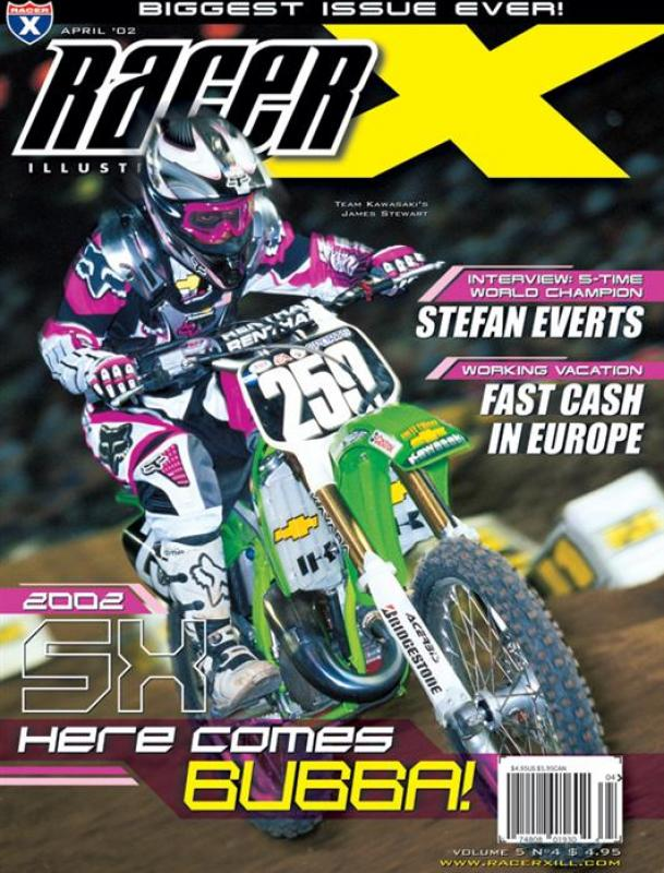 The April 2002 Issue - Racer X Illustrated  Magazine
