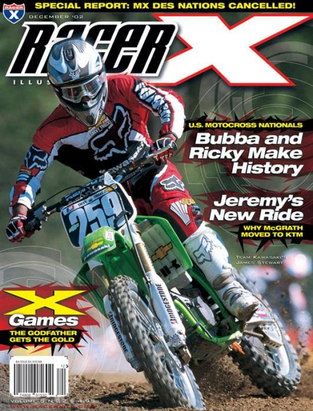 The December 2002 Issue - Racer X Illustrated Supercross Magazine