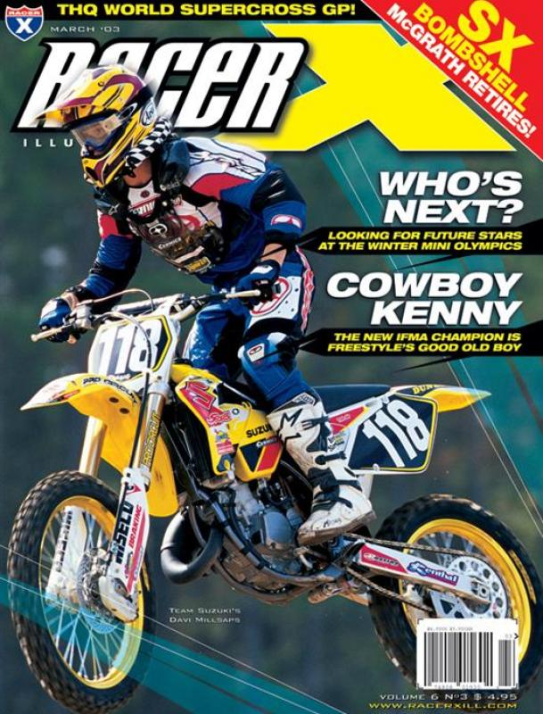 The March 2003 Issue - Racer X Illustrated  Magazine