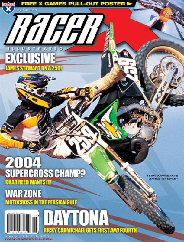 The June 2003 Issue - Racer X Illustrated Motocross Magazine