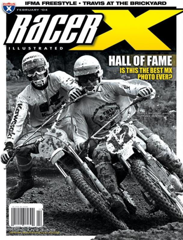 The February 2004 Issue - Racer X Illustrated  Magazine