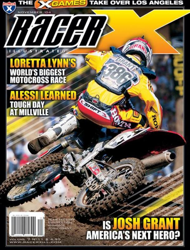 The November 2004 Issue - Racer X Illustrated Supercross Magazine