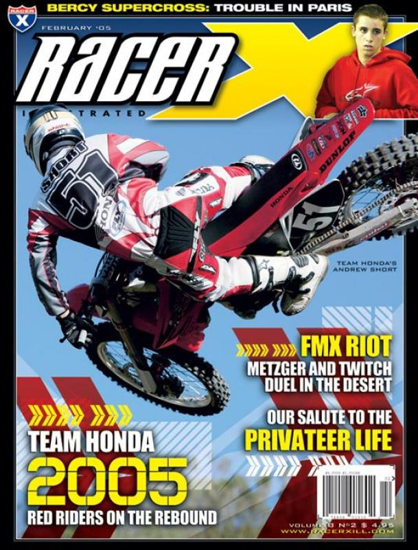 The February 2005 Issue - Racer X Illustrated  Magazine