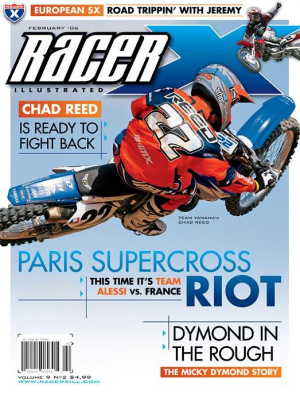 The February 2006 Issue - Racer X Illustrated  Magazine