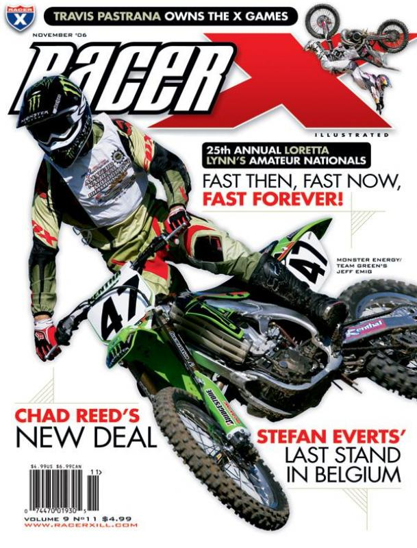 The November 2006 Issue - Racer X Illustrated  Magazine