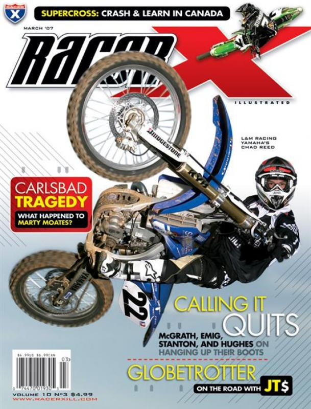 The March 2007 Issue - Racer X Illustrated  Magazine