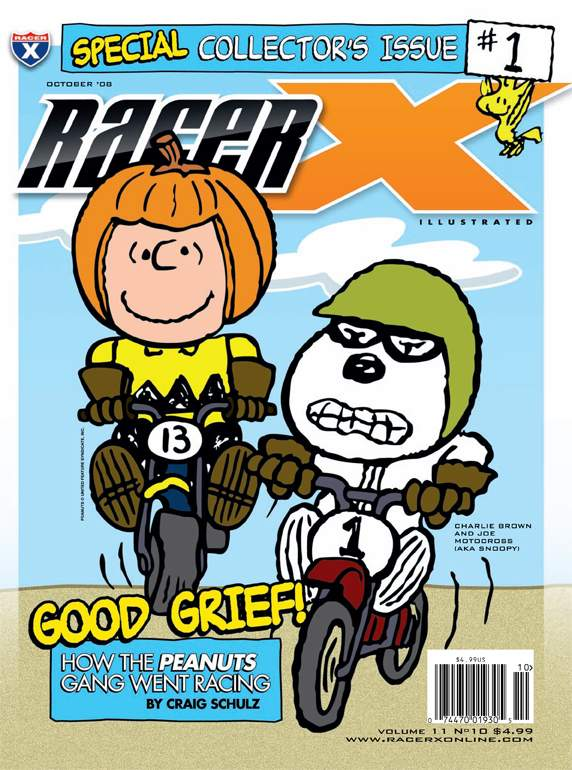 The October 2008 Issue - Racer X Illustrated  Magazine