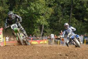Tim Ferry and Broc Hepler battled for most of the day at Steel City.