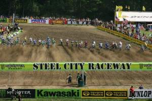 Steel City on Saturday went over well with the riders and teams.