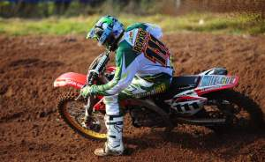 Ray Rowson won the MX1 class at the series finale.