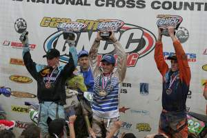 Thad only needs a few points at the next race in Unadilla to clinch the XC2 championship