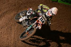 You could tell this guy raced arenacross before