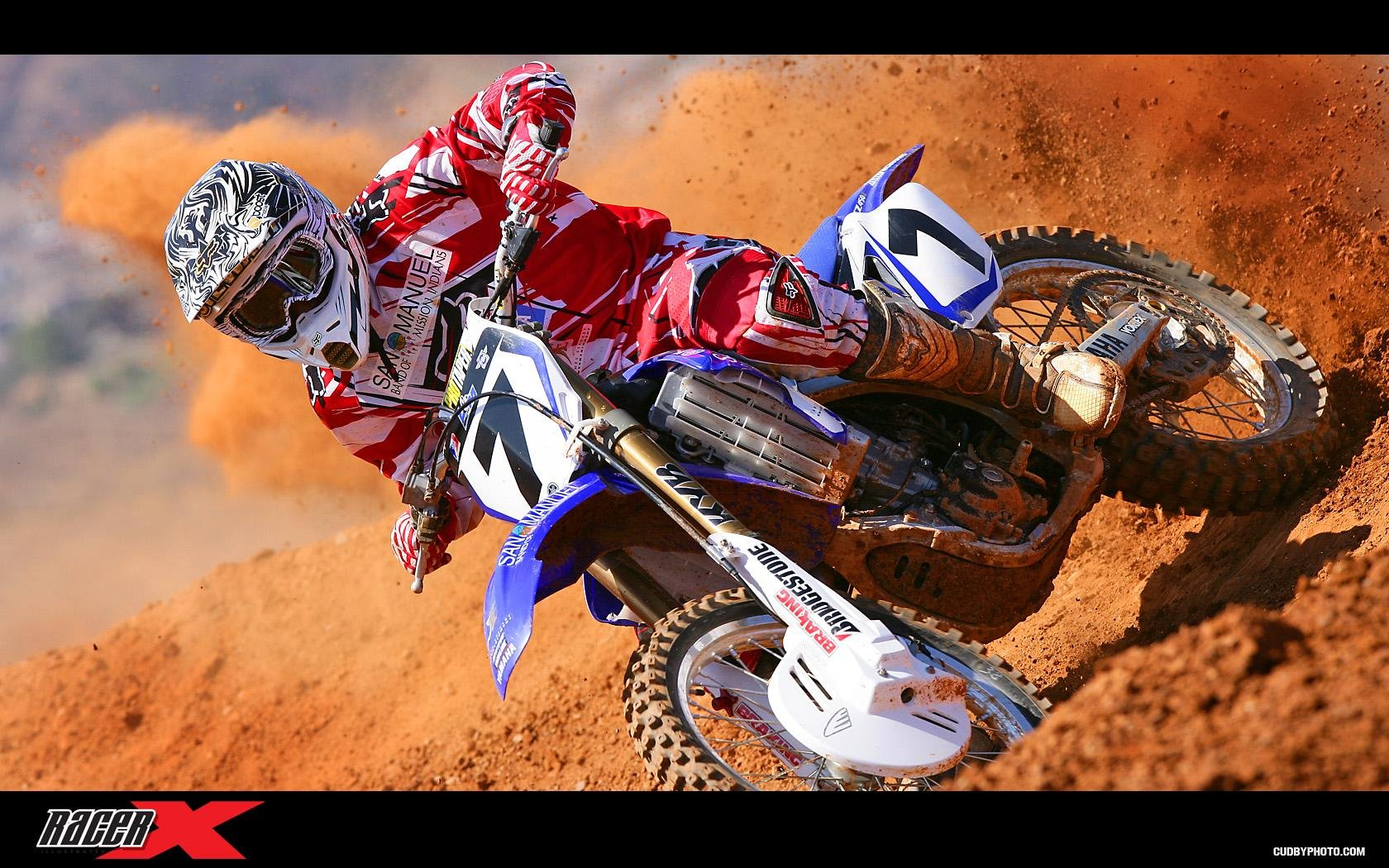 James Stewart Yamaha SX Testing