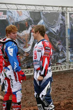 Ryan Villopoto was happy to see his old competitor.