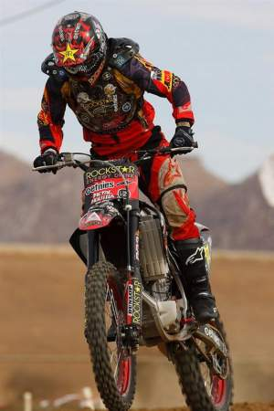 Deegan riding recently at Starwest