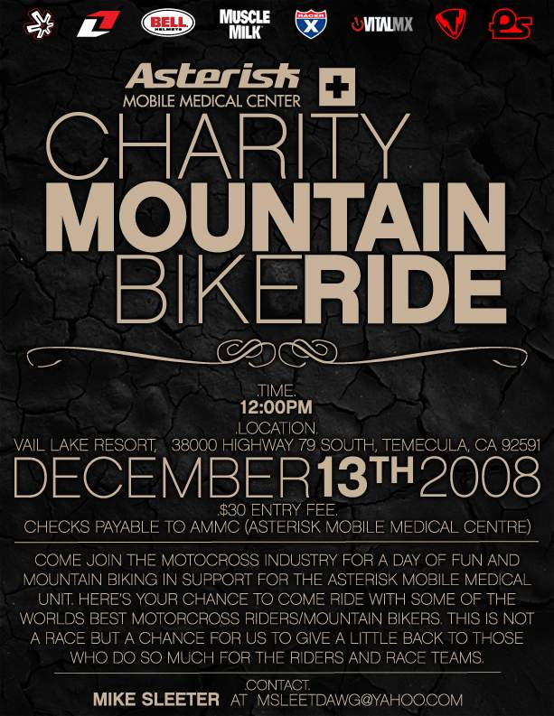 Asterisk Charity Mountain Bike Ride