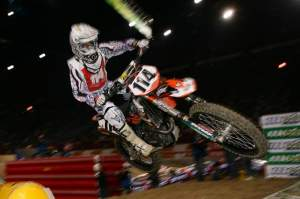 Justin Brayton was again firmly planted in second place.
