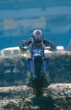 Ernesto Fonseca won two regional supercross championships for Yamaha of Troy