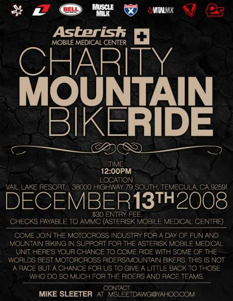 Asterisk Charity Ride