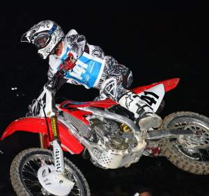 France's Steve Boniface will be riding a 450 for the Troy Lee Designs Honda team in supercross.