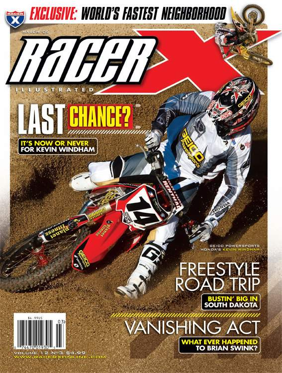 The March 2009 Issue - Racer X Illustrated Supercross Magazine