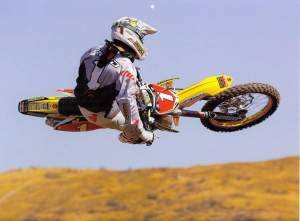Jake Klingensmith took this photo of Reed for the 2009 Racer X Calendar