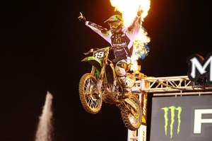 Jake Weimer won his second race in a row, and third of the year, at Anaheim III.