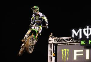 Weimer is now leading Dungey in the Lites West race