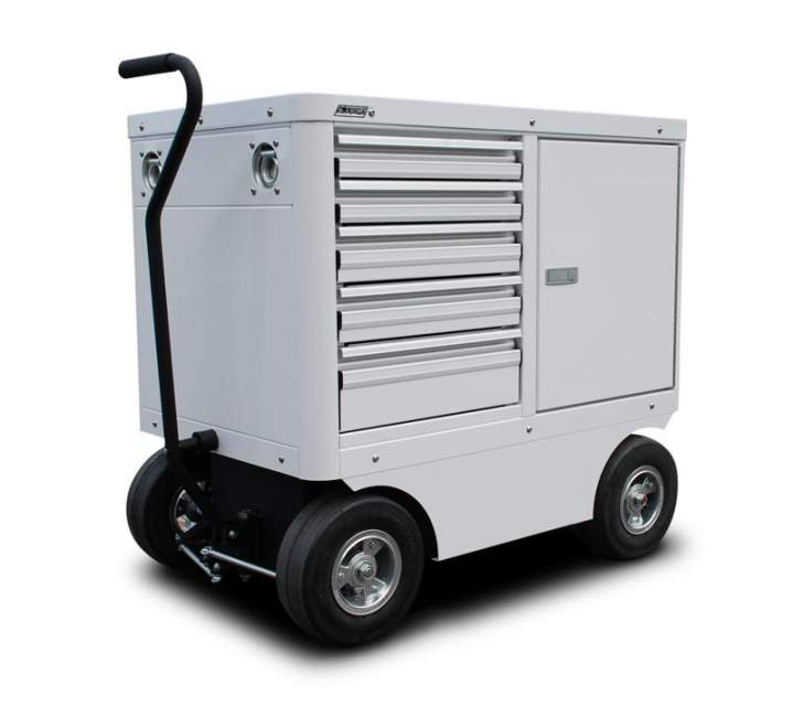 CTECH Aluminum Cabinets And Carts Introduces The Mini Cart