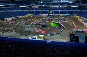 This unique track was a big piece of the delicious pie that was the Indianapolis SX