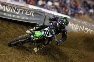 Here he is folks, the fourth different winner this year, Ryan Villopoto. He deserves it and earned the win. It reminded me of Big Bird's win in Seattle back in the day.